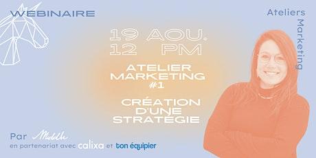Atelier marketing #1 - Création d'une stratégie billets