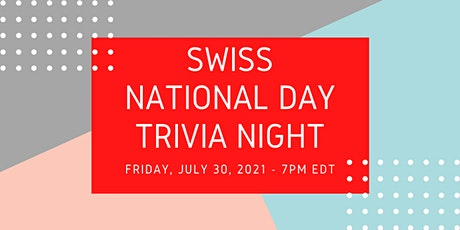 Swiss National Day Trivia Night tickets
