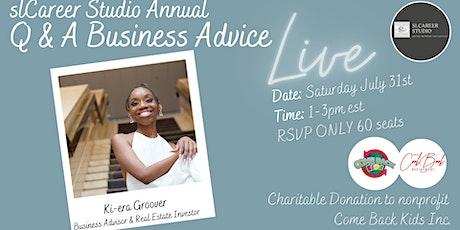Q&A Business Advice Meetup tickets