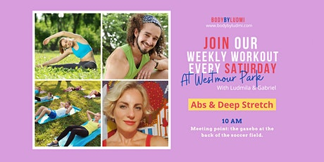 Abs & Deep Stretch Workout in Westmount Park tickets