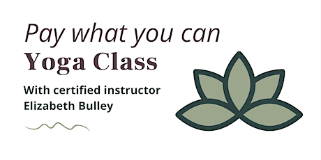 Pay What You Can Yoga Class tickets