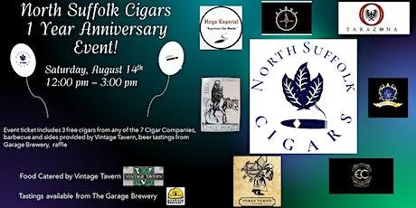 North Suffolk Cigars 1 Year Anniversary tickets