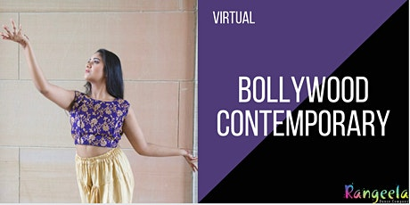 Virtual Bollywood Contemporary Dance Workshop with Payal tickets