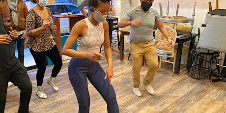 Salsa Dance Bootcamp classes for beginners (Virtua tickets