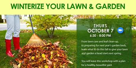 Winterize Your Lawn and Garden tickets