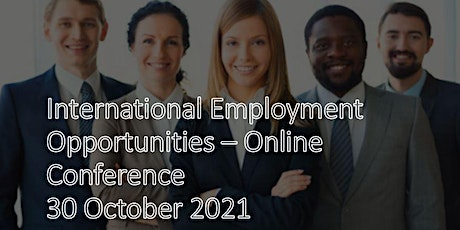 International Employment Opportunities  -  Online Conference tickets