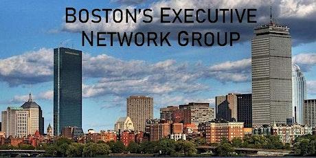 Boston's Executive Network Group Virtual Meeting tickets