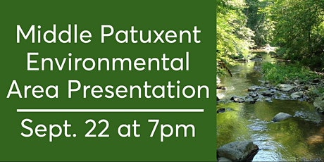 Middle Patuxent Environmental Area Presentation tickets