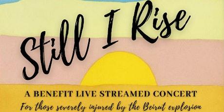 """""""Still I Rise"""" - An Online Benefit Concert tickets"""