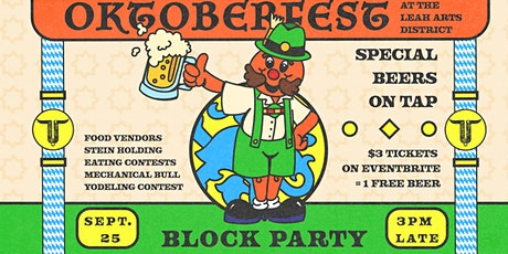 Oktoberfest Block Party tickets