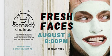 Comedy Chateau presents: Fresh Faces (8/1) tickets