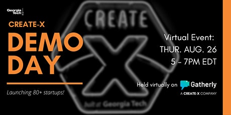 2021 Georgia Tech CREATE-X Demo Day tickets