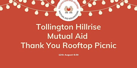 Tollington Hillrise Mutual Aid Thank You Event! tickets