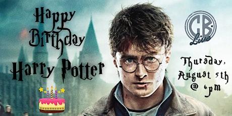 Happy Birthday Harry Potter Movie Trivia at CB Live tickets