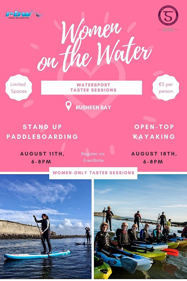 Women on The Water- Kayak Taster Session image