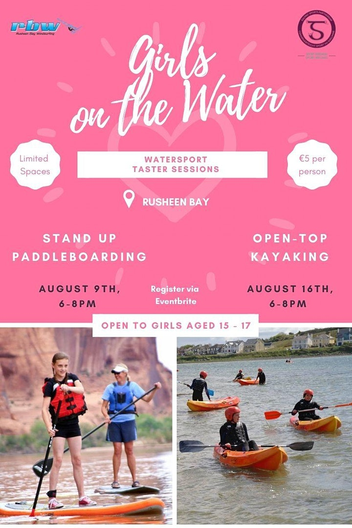 Girls on The Water- Stand Up Paddleboard Taster Session image