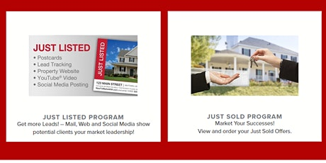 Just Listed Just Sold Program Launch tickets