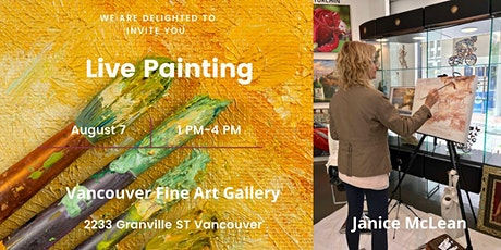 An opportunity to meet local artists in Live Painting Events tickets