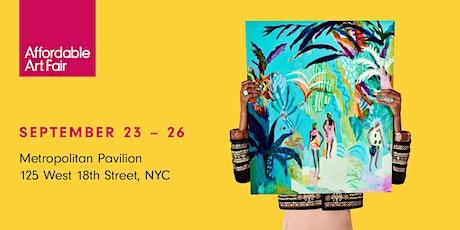 Affordable Art Fair NYC Fall 2021 tickets