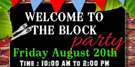 Welcome to The Block Party tickets