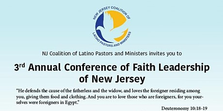 3rd Annual Conference of Faith Leadership of New Jersey tickets