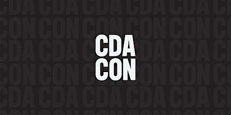 CDA CON tickets