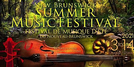 New Brunswick Summer Music Festival 2021 tickets