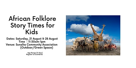 African Folklore Story Times for Children tickets
