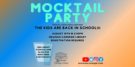 Mocktail Party tickets