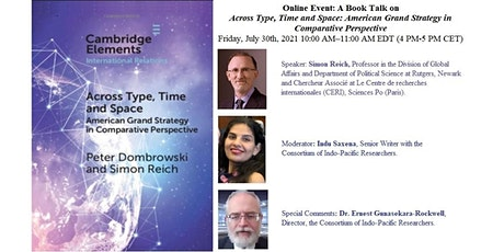Book Talk—Across Type, Time and Space:  American Grand Strategy... tickets
