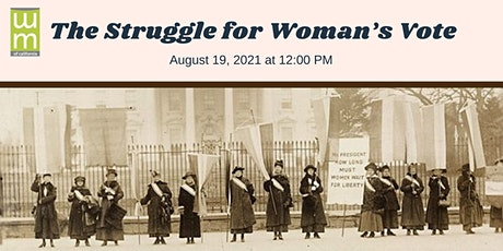The Struggle for Woman's Vote tickets