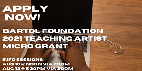 Teaching Artist Micro-Grant Information Session #1 tickets