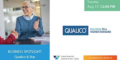 Business Spotlight - Qualico tickets