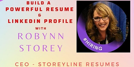 Build a Powerful Resume and LinkedIn Profile tickets