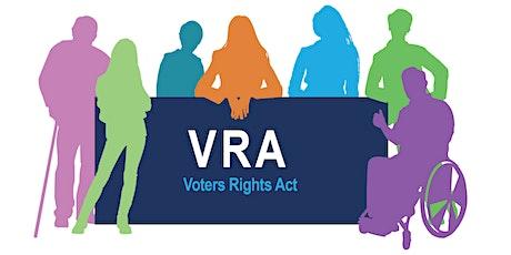 County of Santa Clara Registrar of Voters Feedback Forum (Spanish) tickets