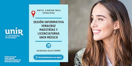 Sesión Informativa UNIR México Veracruz tickets