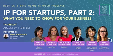IP For Startups Part 2: What You Need To Know For Your Business tickets