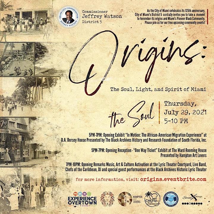 Origins | Overtown Black Pioneer Celebration of Mi image