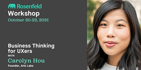 UX Workshop: Business Thinking for UXers tickets