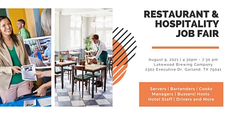 Staff Meal Restaurant and Hospitality Job Fair tickets