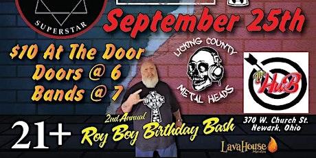 Roy Boys 2nd Annual Birthday Bash tickets