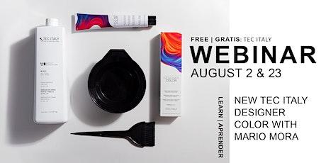 TEC ITALY NEW DESIGNER COLOR: FREE WEBINAR #1 tickets