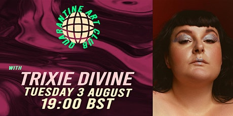 """""""DISCO IS NOT DEAD"""" Online Life Drawing with Trixie Divine tickets"""