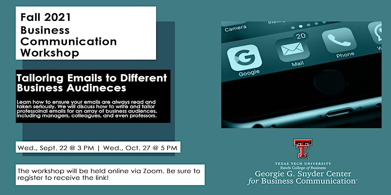 Business Communication Workshop: Tailoring Emails to Different Business Audiences
