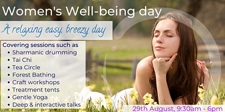 Women's Well-being Day tickets