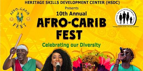 Afro-Carib Fest billets