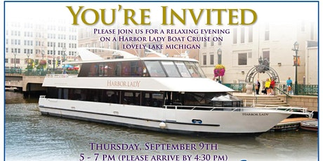 COWI/EBI Customer Appreciation Lake Michigan Cruise tickets
