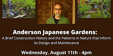 Japanese Anderson Gardens: A Brief Construction and Design History tickets