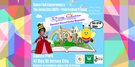 2021 JC Family PRIDE Festival - Drag Queen Story Hour at Canco Park tickets