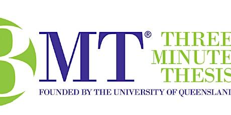 University of Canterbury 3MT Finals tickets